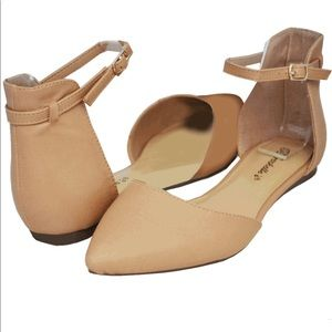"""Breckelles Shoes - Breckell's """"Dolley"""" Ballerina Flat"""
